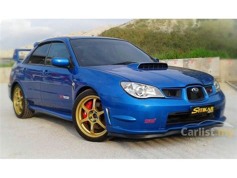 2005 subaru impreza wrx sti subaru wrx sti 2005 in penang manual blue for rm 75 900