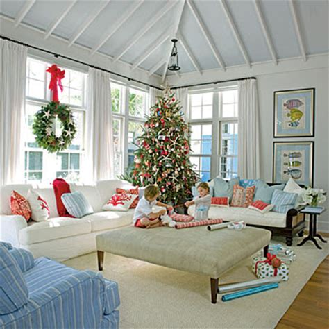 home at the beach decor sweeter homes decorating a beach house for christmas