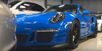 Porsche 911 Gt3 Rs Blue Voodoo Blue Porsche 911 Gt3 Rs Makes Gt Silver Metallic