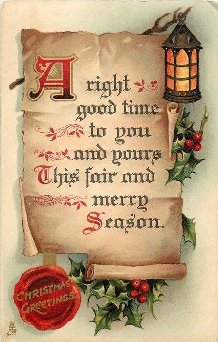 good time      fair  merry season  parchment lantern  ho