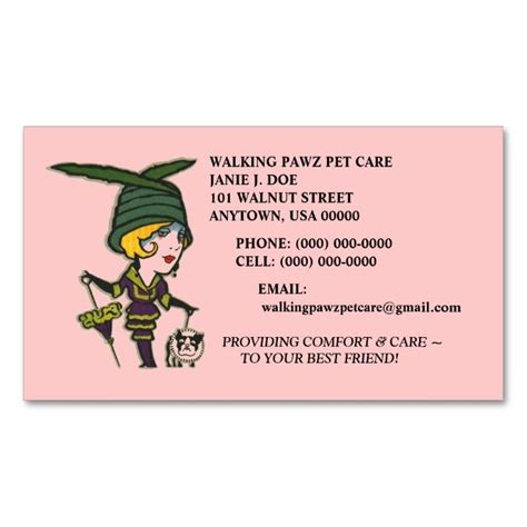 animal business cards templates top 25 ideas about animal pet care business card templates