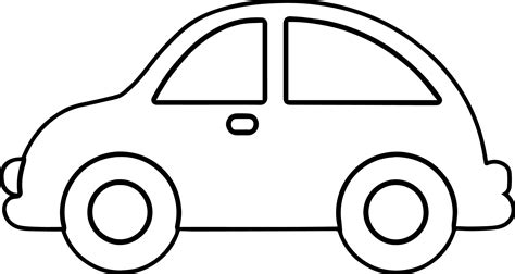 car black and white black and white car car outline free