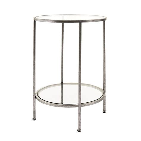 silver end table silver end tables