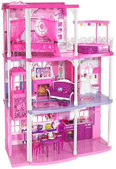 barbie doll houses with elevator barbie house with elevator