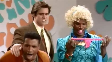in living color shanaynay jim carrey and foxx in wanda on the
