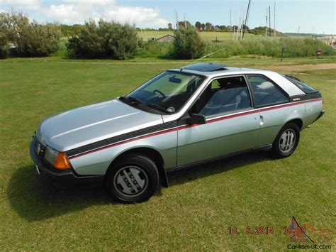 renault fuego sunroof 1983 renault fuego gtx coupe 2l tax and mot one of only