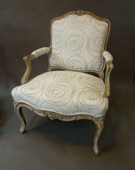 french style armchairs pair of louis xv style french provincial armchairs for