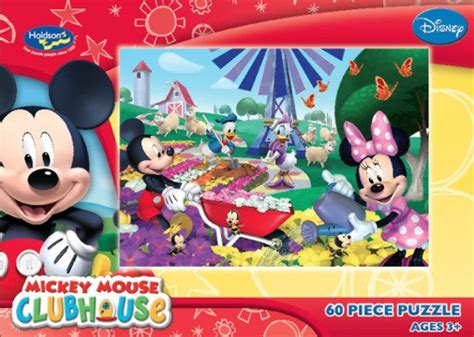 Puzzle Mickey Mouse Club mickey mouse clubhouse great day for growing puzzle decades of toys