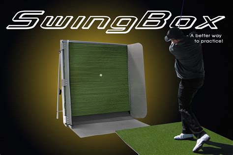 swing box golf swing box indoor driving range swing trainers