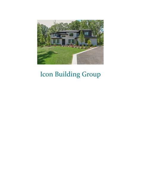 custom home builder in chicago icon building group ppt chicago home builders custom luxury homes icon