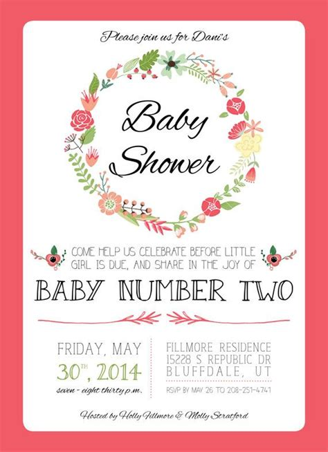 Baby Shower For A Second Baby by Best 25 Baby Showers Ideas On