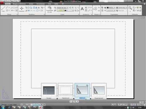 tutorial autocad 2009 youtube tutorial de presentaciones en un archivo de autocad 2009