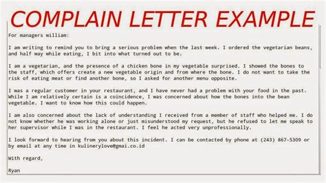 3 contoh surat komplain dalam bahasa inggris dan artinya