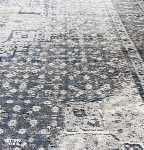 Area Rugs That Don T Shed by New Indigo Blue Rugs And A Giveaway Setting For Four