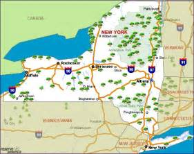 New York State Parks Map by New York Camping Resources And Information