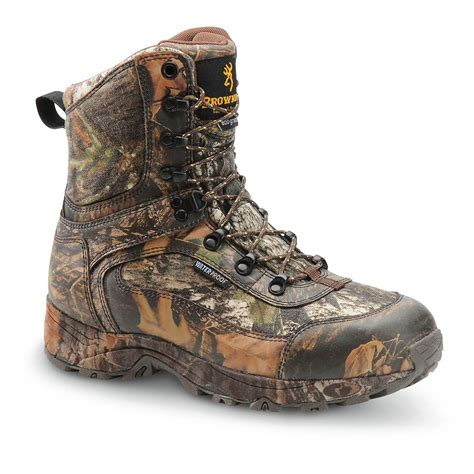 browning boots s browning 174 800 gram thinsulate insulation waterproof