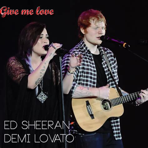 free download mp3 ed sheeran give me love give me love ed sheeran ft demi lovato mp3 by