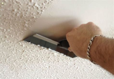 how do you remove popcorn ceilings how to remove popcorn ceilings bob vila