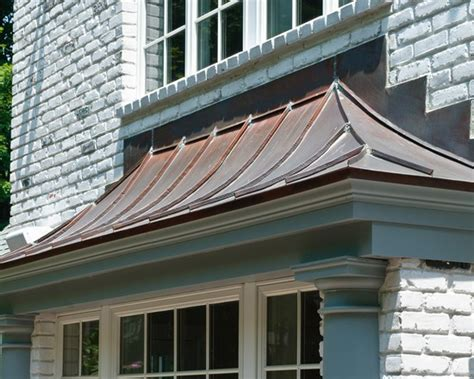 Bay Window Awning by Garage Awning 10 Copper Bay Window Awning