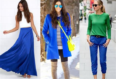what colors go with blue colors that go with cobalt blue clothes ideas