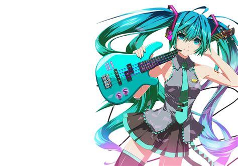 imagenes png fondo de pantalla fondos de pantalla de hatsune miku tocando una guitarra