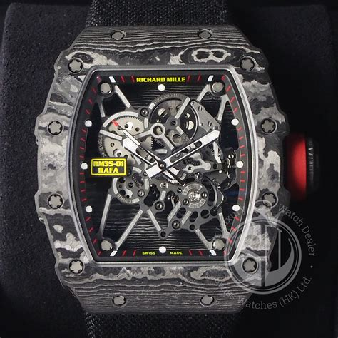 Jam Richard Mille Rafael Rm35 02 Ultimate Swiss Eta richard mille rm35 01 rafael nadal swiss watches hk ltd
