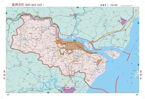 map in wenzhou detail area map wenzhou mappery