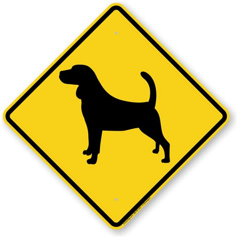 signs of in dogs beagle symbol sign guard sign beware sign sku k 7633 beagle