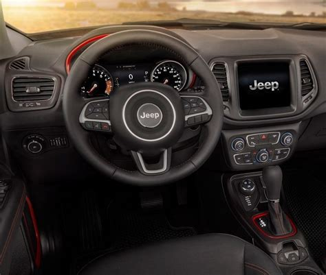 jeep compass 2018 interior interior 2018 jeep compass by fox lake il antioch