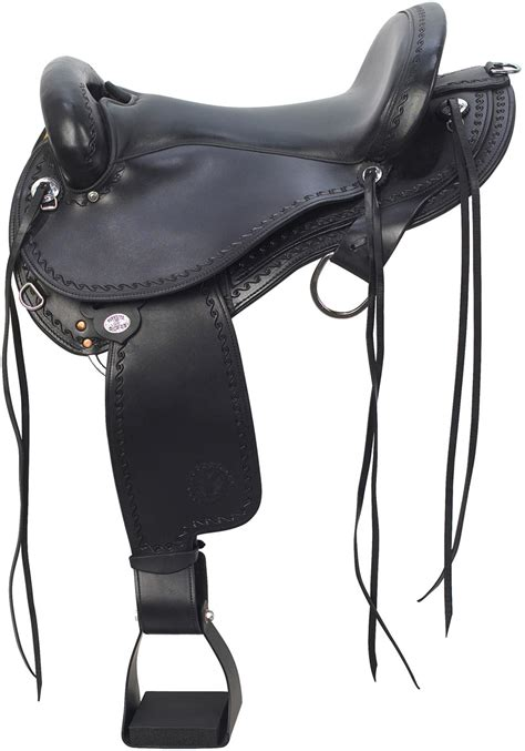 horse saddle 1575 expedition western trail horse saddle circle y