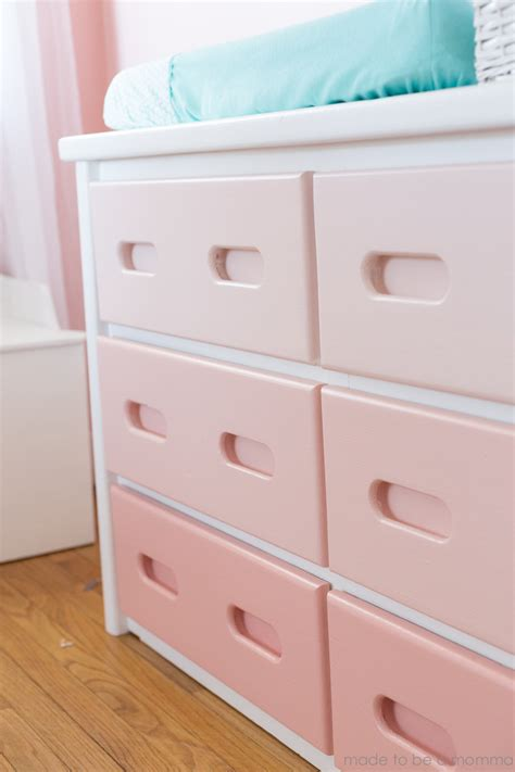 Diy Ombre Dresser by Diy Ombre Dresser Made To Be A Momma