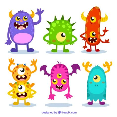 monsters free vectors photos and psd files free