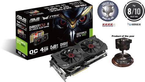 Asus Geforce Gtx 980 Directcu Ii Oc 4gb Ddr5 Strix Gtx980 Dc2oc 4gd5 asus geforce gtx 980 strix 4gb directcu ii oc utg 229 tt