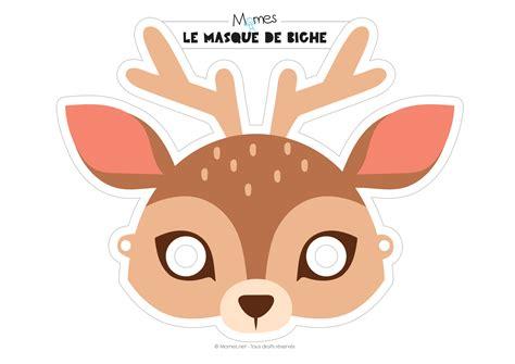 Masque De Biche 224 Imprimer Masque Biche Et Yeux De Biche