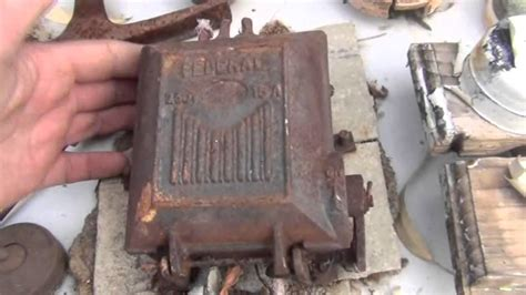 fuse how to iron beautiful antique australian federal cast iron fuse boxes