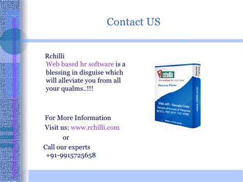 web based r web based recruiting