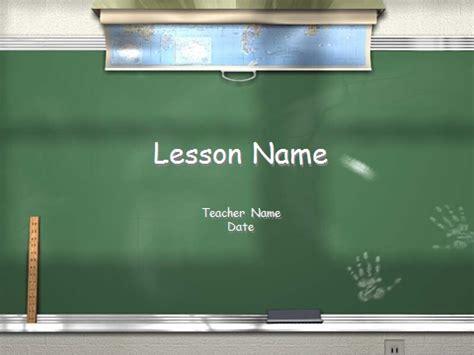 powerpoint 2007 blackboard themes chalkboard template teaching powerpoint templates