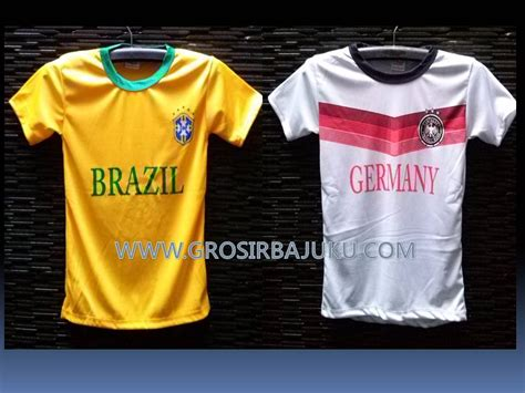Hadiah Kaos Negara Jerman Distributor Kaos Bola Piala Dunia Lokal Baju3500