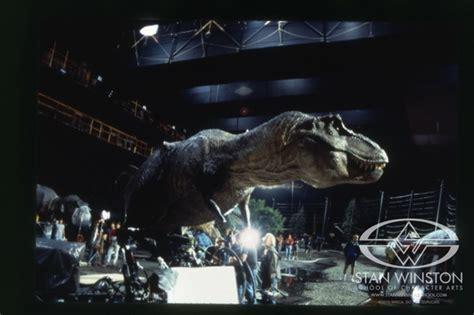 film robot dinosaurus jurassic park t rex robot as dangerous as a real