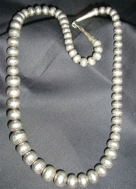 sterling silver navajo pearls necklace and earring set layaway