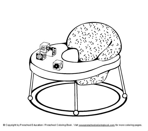 Coloring Pages Baby Items | free coloring pages of baby items