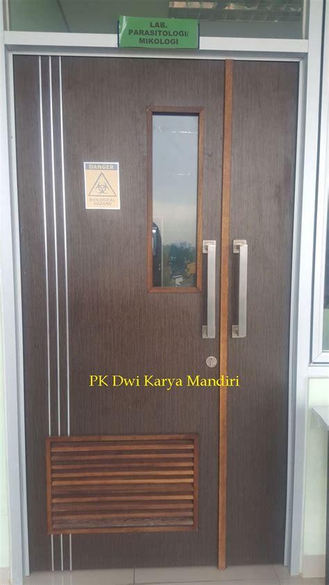 Pintu Panel Lapis Hpl pintu hpl krepyak pk dwi karya mandiri