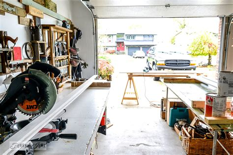 one car garage workshop the too little woodworking workshop that couldfunky junk