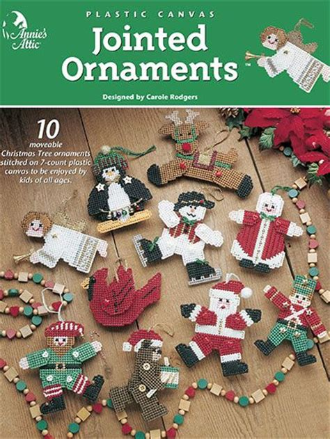 southwest christmas ornaments plastic canvas plastic canvas jointed ornaments a872232 intermediate level plastic canvas