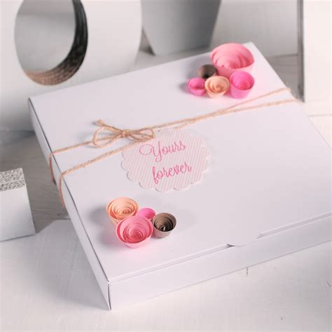 Romantic Gift Cards - romantic card message gift wrapping ideas box decoration