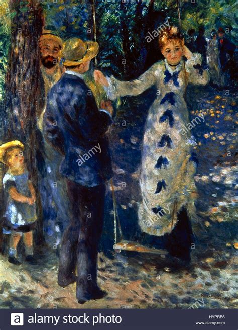the swing renoir auguste renoir 1841 1919 painter the