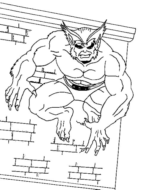 marvel beast coloring pages x men coloring page x men beast all kids network