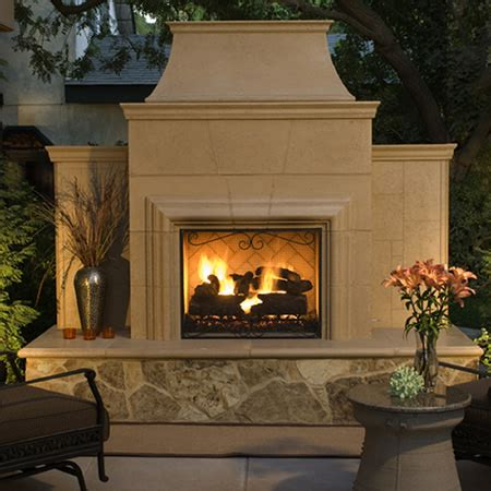 outdoor fireplace gas logs american fyre designs grand cordova outdoor fireplace