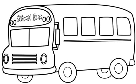coloring page for bus bus coloring pages school bus coloring pages k math