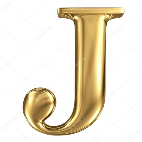 Letter J golden letter j stock photo 169 smaglov 54959969